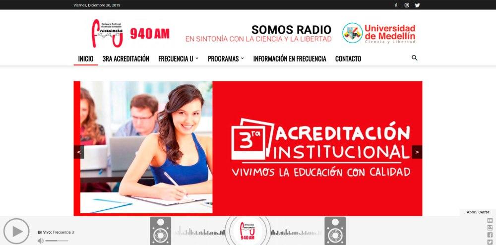 Emisoras Virtuales en Medellín